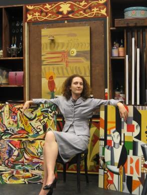 Jaide Whitman as Peggy Guggenheim 2 by Alvin Schnupp